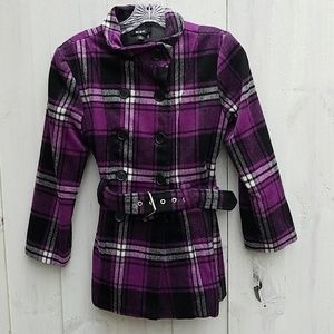 Girls BCX pea coat NWT